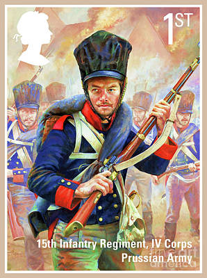 Prussian Infantryman Poster by Lanjee Chee