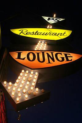 Ps Lounge Poster by Jeffery Ball