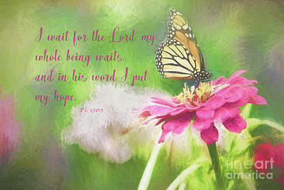 Psalm 130 Poster