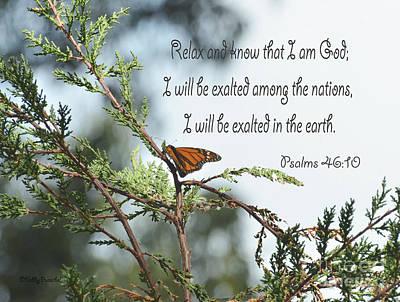 Psalms 46  10 Poster