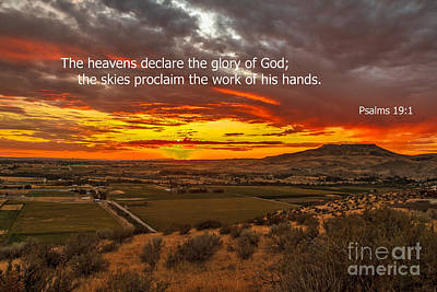 Psalms Poster by Robert Bales