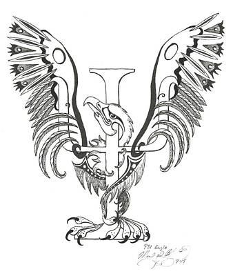 Psi Eagle Poster