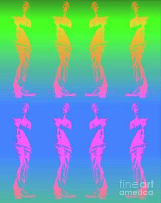 Psychedelic Venus Poster