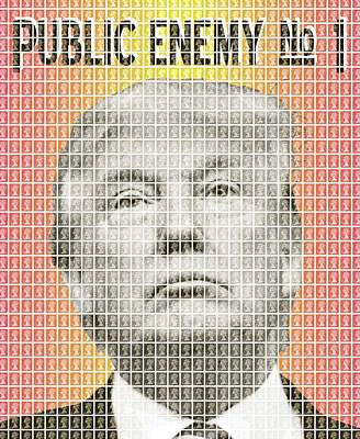 Public Enemy Number 1 Poster by Gary Hogben