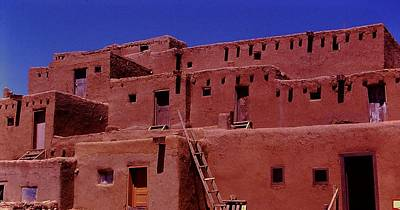Pueblo Living Poster