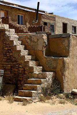 Pueblo Stairway Poster