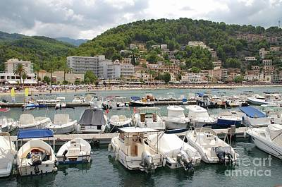 Puerto De Soller In Majorca Poster