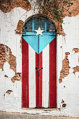 Puerto Rican Door Poster