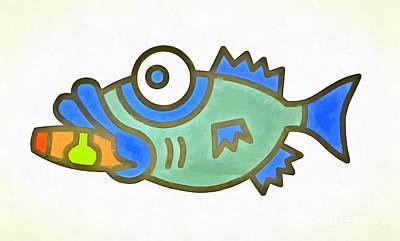 Puffer Fish Poster
