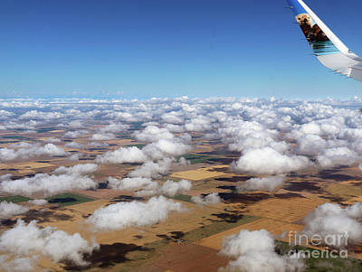 Puffy Clouds  3772 Poster