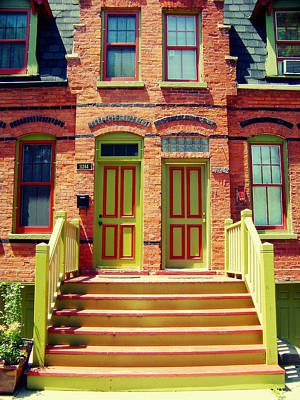 Pullman National Monument Row House Poster