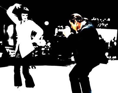 Pulp Fiction Dance 17 Poster by Brian Reaves