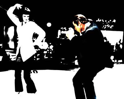 Pulp Fiction Dance 17 Poster