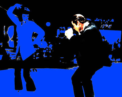 Pulp Fiction Dance 17a Poster