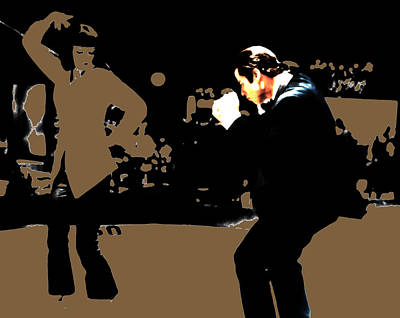 Pulp Fiction Dance 17b Poster