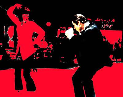 Pulp Fiction Dance 17d Poster