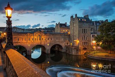 Pulteney Bridge Bath England Poster by Brian Jannsen