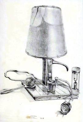 Pump Lamp Poster