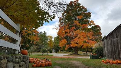 Pumpkin Mill Poster by 2141 Photography