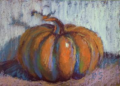 Pumpkin Plenty Poster by Donna Shortt