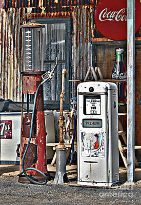 Poster featuring the photograph Pumps by Lee Craig
