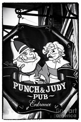 Punch And Judy Pub Poster by John Rizzuto