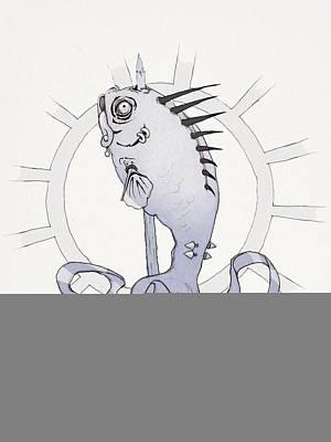 Punk Fish Poster