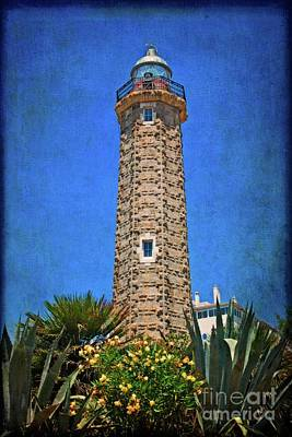 Poster featuring the photograph Punto Doncela Lighthouse by Mary Machare