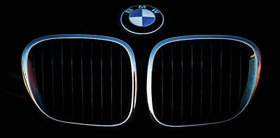 Pure Z3 - Bmw Z3 Grill And Roundel Poster
