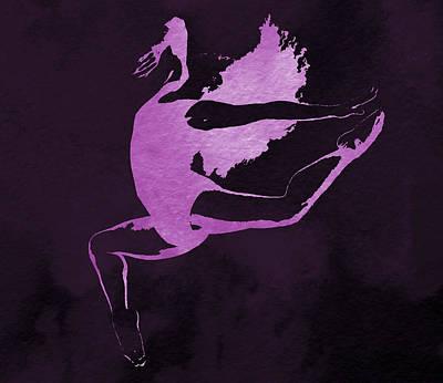Purple Dancer Poster