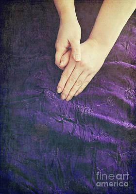 Purple Dress Poster