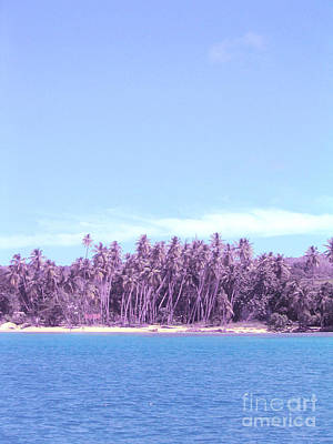 Purple Island Poster by Barbara Marcus