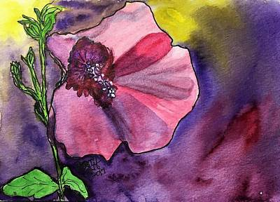 Purple Shadows Poster