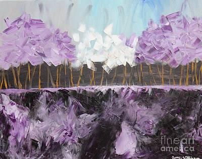 Purple Skies Poster by Amy Wilkinson