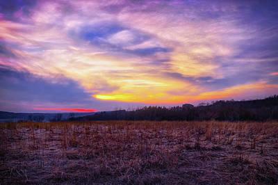 Purple Sunset At Retzer Nature Center Poster by Jennifer Rondinelli Reilly - Fine Art Photography