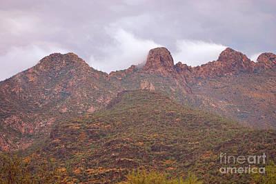 Pusch Ridge Tucson Arizona Poster