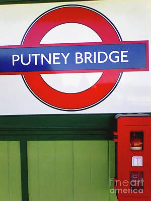 Putney Bridge Poster