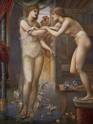 Pygmalion And The Image  Poster by Edward Burne-Jones