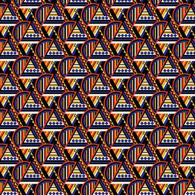 Pyramid Sunrise Poster