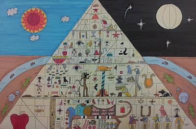 Pyramid Poster