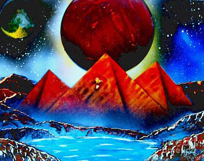 Pyramids 4663 E Poster