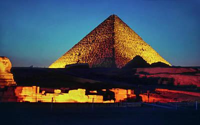 Pyramids Of Giza Poster