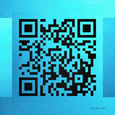 Qr Codes - Code Blue Poster