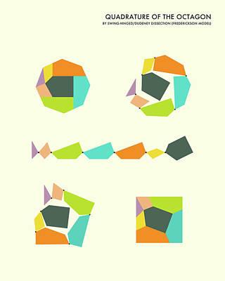 Quadrature Of The Octagon Poster