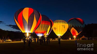 Quechee Balloon Festivial Poster