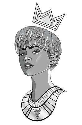 Queen Zendaya Poster