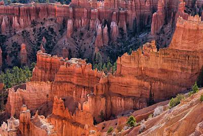 Queens Garden Overlook - Bryce Canyon Np Poster by Thomas Schoeller