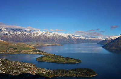 Queenstown Panoramic Poster by Odille Esmonde-Morgan
