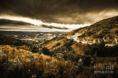 Queenstown Tasmania Poster by Jorgo Photography - Wall Art Gallery