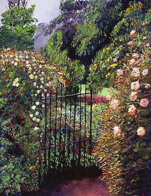 Quiet Garden Entrance Poster